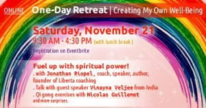 Retreat Creating my own well being